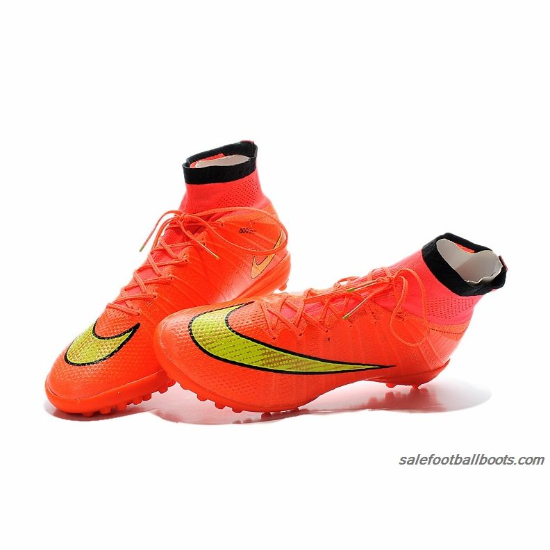 new product de5ee 864b3 Nike Elastico Superfly TF Orange Yellow Gold  86.99