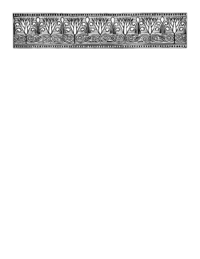 This heading papyrus border features an abstract design reminiscent of paper plants it is gray black and white positioned at the top also rh pinterest
