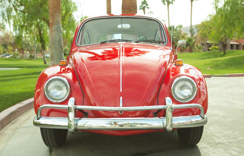 sold l456 ruby red 67 beetle vws pinterest beetle vw rh pinterest com