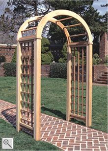 Pin By Trellis Structures On Arbors Garden Arbor Diy