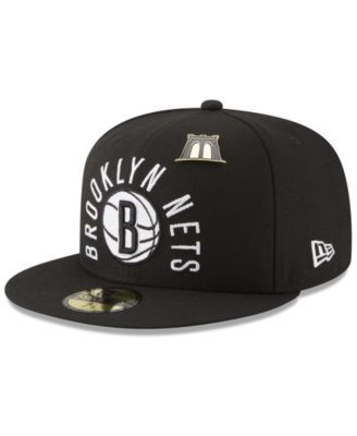 32306fadcba0f8 New Era Brooklyn Nets City On-Court 59FIFTY Fitted Cap - Black 7 1/2 ...
