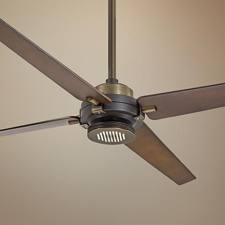 60 minka aire spectre bronze brass led ceiling fan minka this energy efficient minka aire ceiling fan features a dimmable led downlight for soft lighting aloadofball Images