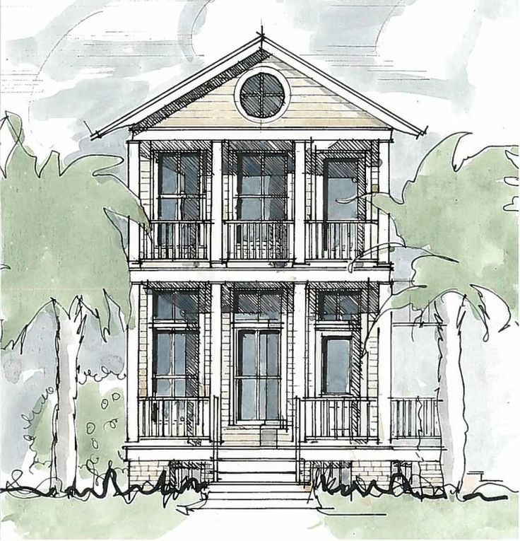 Image Result For Tnd Rear Entry Home Narrow Lot House Plans Cottage Floor Plans House Plans