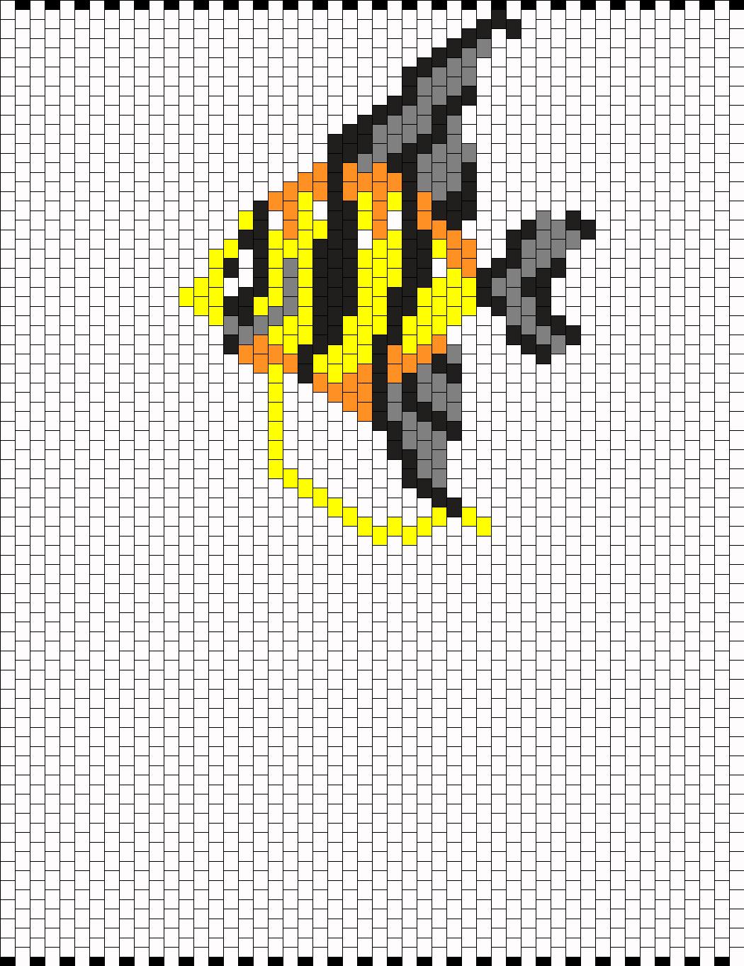 Fish By Ditsie87 On Kandi Patterns