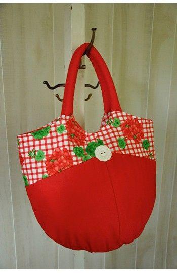 Bella Bag – IJ792 sewing pattern from IndygoJunction.com