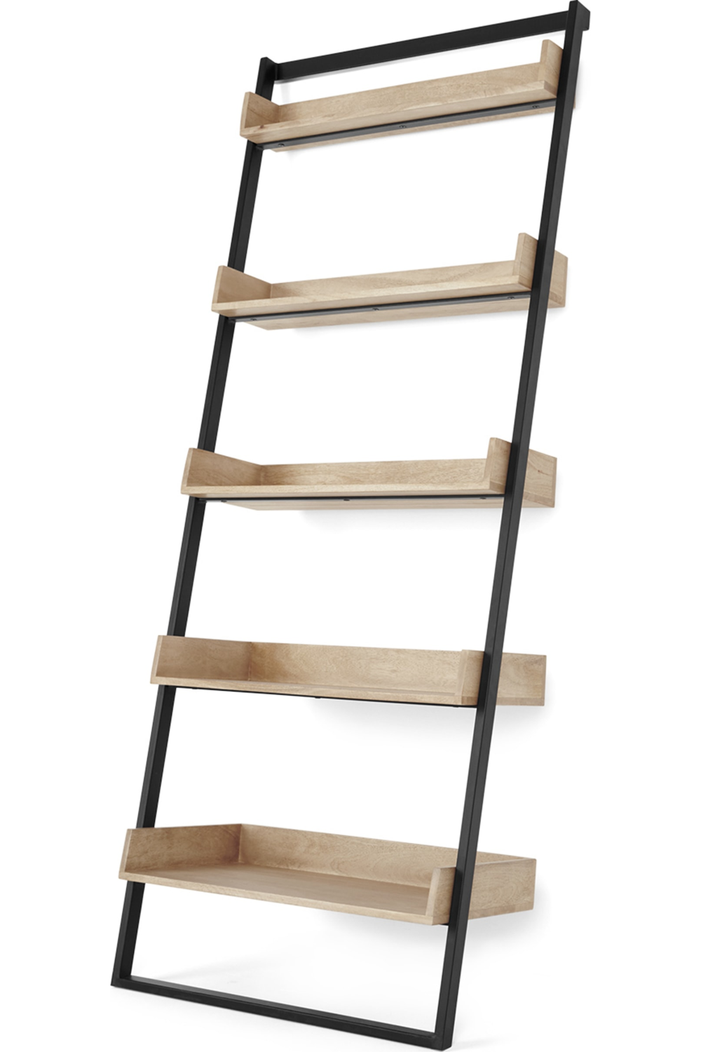Ladder Bookshelf Narrow Sand Stone In 2020 With Images