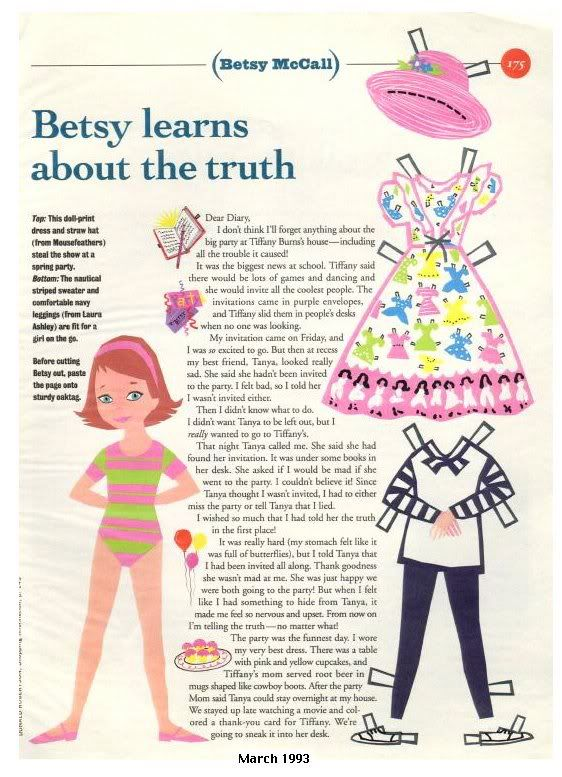 Betsy learns about the truth