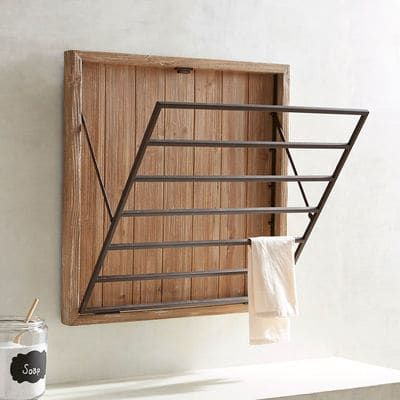 Wall Mounted Drying Racks For Laundry Room Wall Hanging Drying Rack  Metal Rack Laundry And Spaces