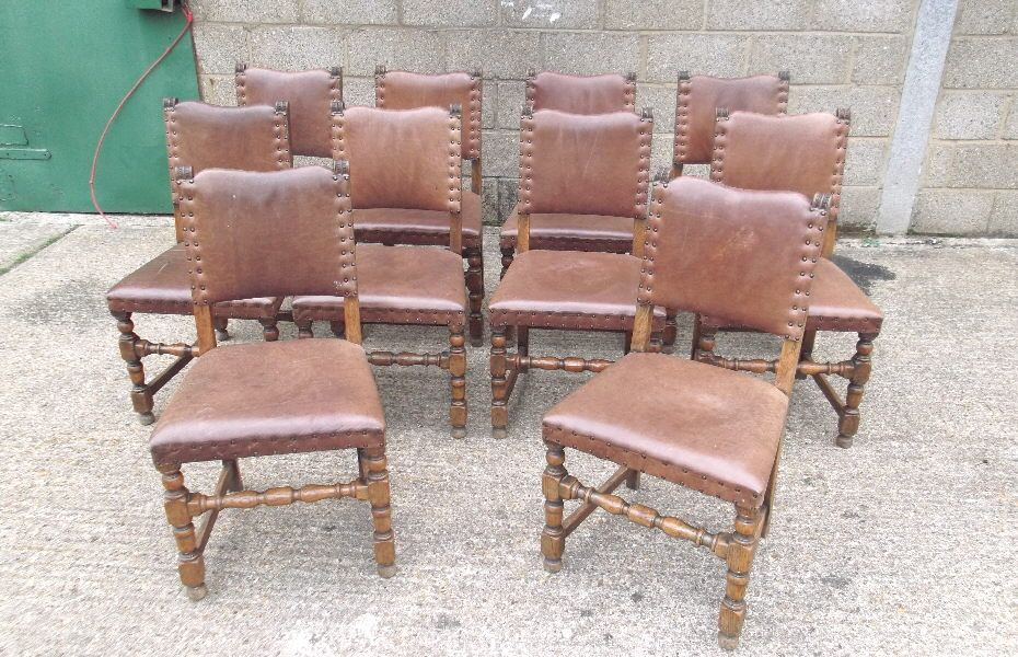 Set Of Antique Chairs - Set Of 8 Eight French High Back Oak Dining Chairs |  January 2017 | Pinterest | Oak dining chairs, Antique chairs and Dining  chairs - Set Of Antique Chairs - Set Of 8 Eight French High Back Oak Dining