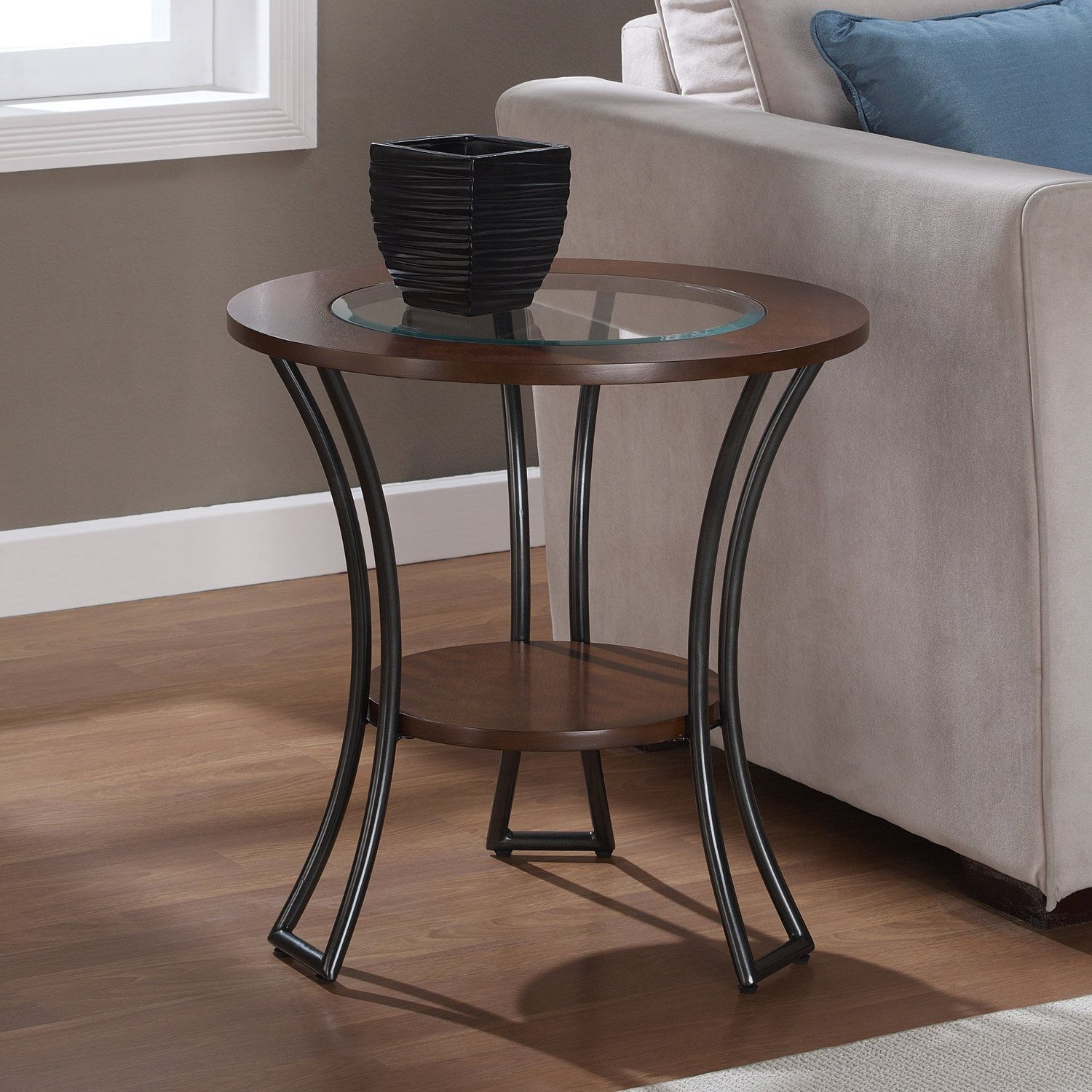 Overstock Com Online Shopping Bedding Furniture Electronics Jewelry Clothing More Glass End Tables Glass Top End Tables Living Room Furniture Tables