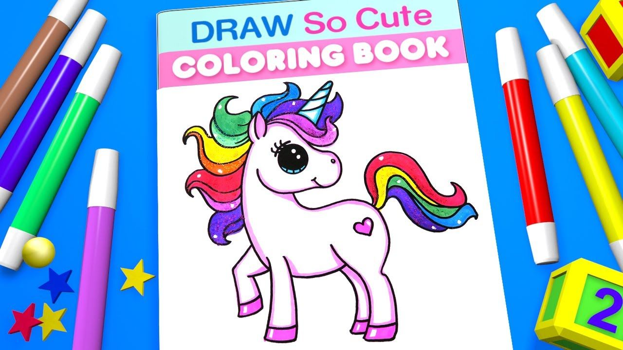 Unicorn Coloring Pages For Kids Learn Color Unicorn Coloring