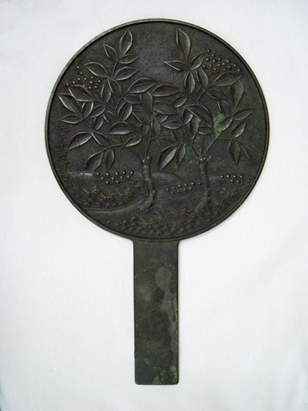 Bronze Mirrors with Handles in Japan | 京都国立博物館 | Kyoto National Museum: