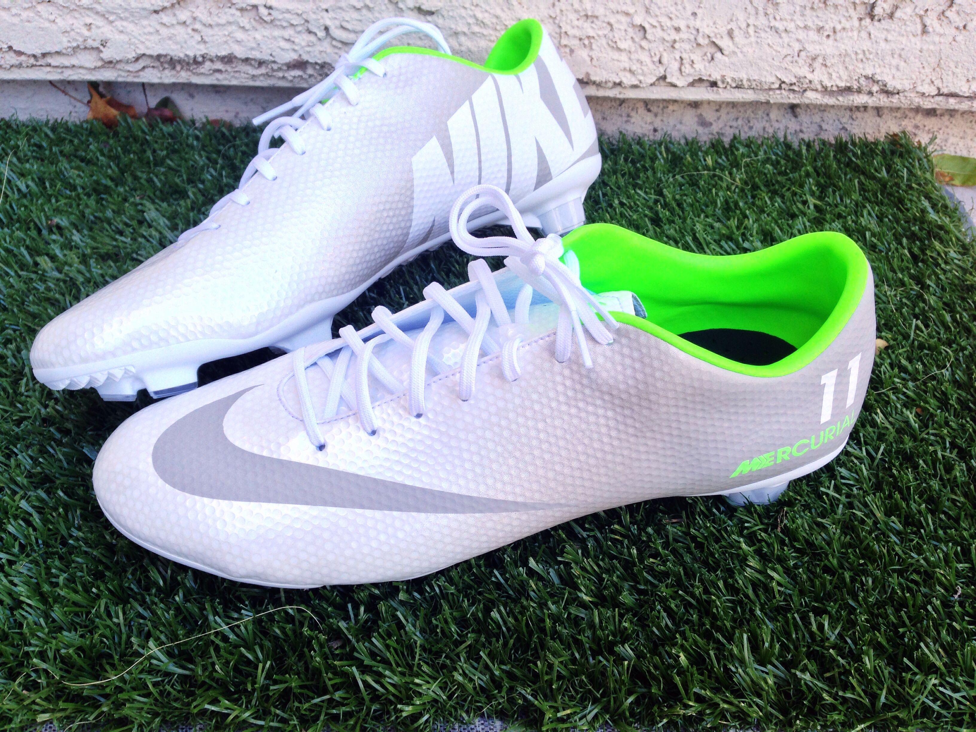Nike Crampons De Football Identifiant Gris Mercuriel