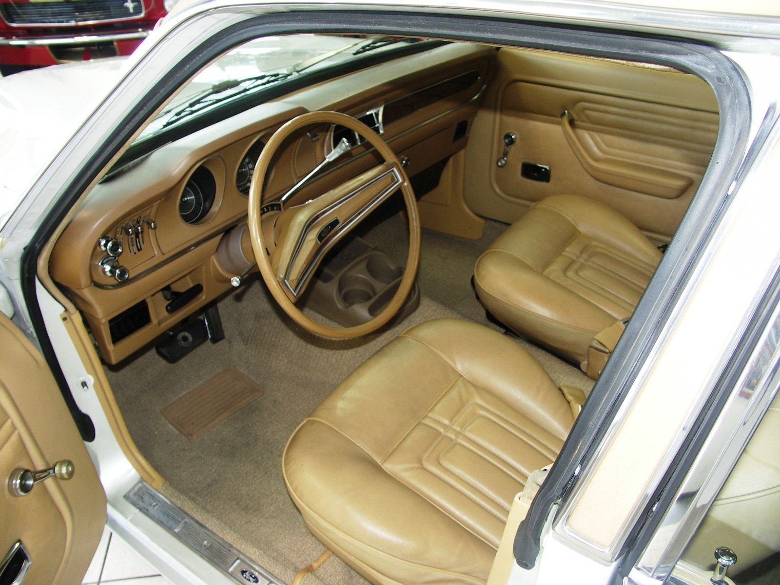 Interior Of A Very Well Cared For 1974 Ford Maverick Ford