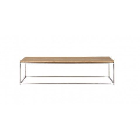 Table Basse Thin En Chene D Ethnicraft Rectangulaire Table Basse Rectangulaire Table Basse Mobilier De Salon