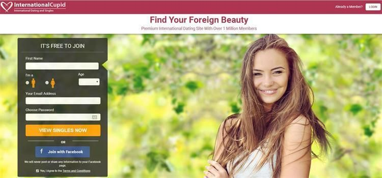 International dating websites for free