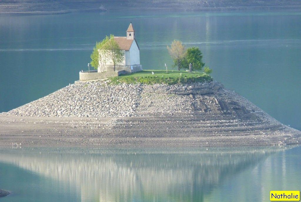 la chapelle st michel sur son le du lac de serre pon on haute alpes mes photos pinterest. Black Bedroom Furniture Sets. Home Design Ideas
