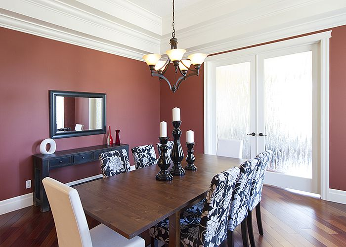 Staged Dining Room #BTSH #Staging