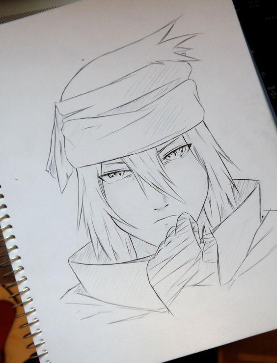 Sasuke Naruto The Last Risovanie Eskizov Risovat Risovanie
