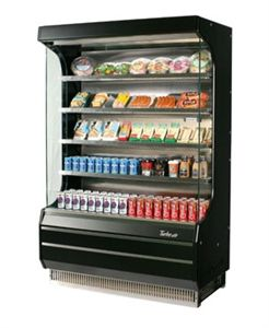 TURBO AIR Merchandiser, Vertical Open Display Merchandiser #Refrigeration #DFWFreezers #DFWCooler