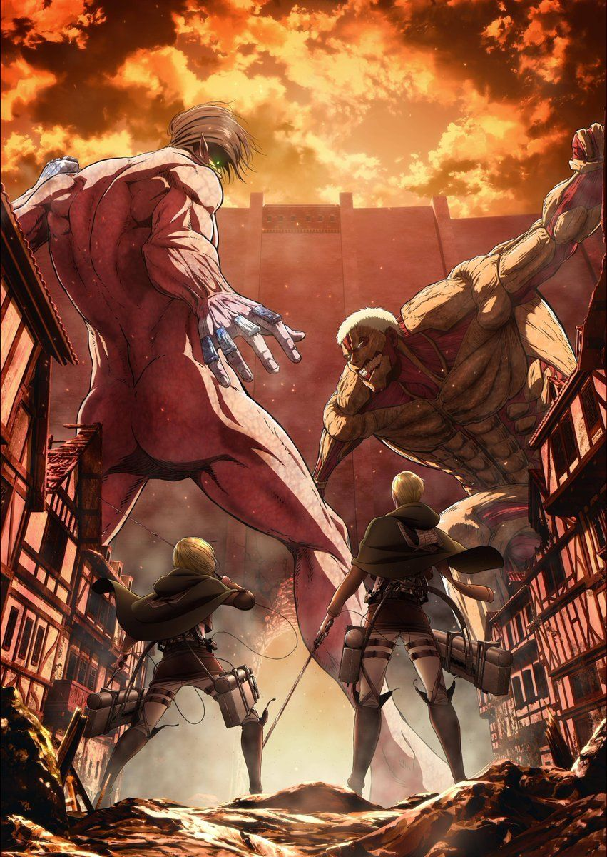 SnK Season 3 Part 2 Funimation Exclusive Key Visual