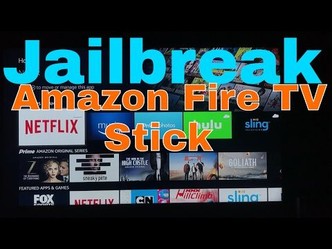 Jailbreak the Amazon Fire TV stick ! Easiest and fastest
