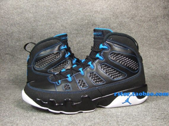 info for e8339 87d3e Air Jordan 9 - Black - Photo Blue - White - SneakerNews.com ...
