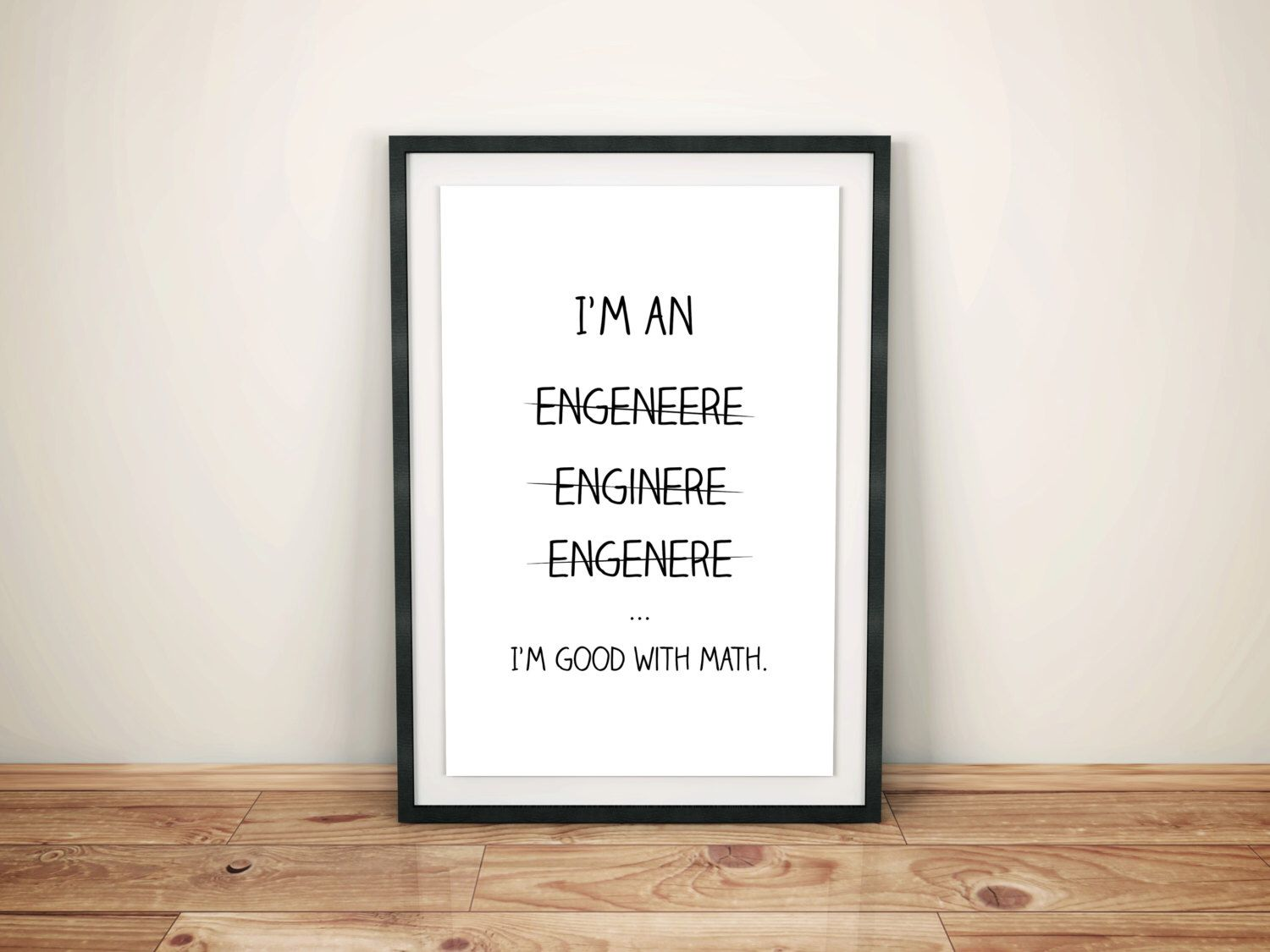 Seattle Map Funny%0A Gifts For Engineer  Engineer Gifts  Engineer Print  Funny Engineer Gifts   Geek Printable