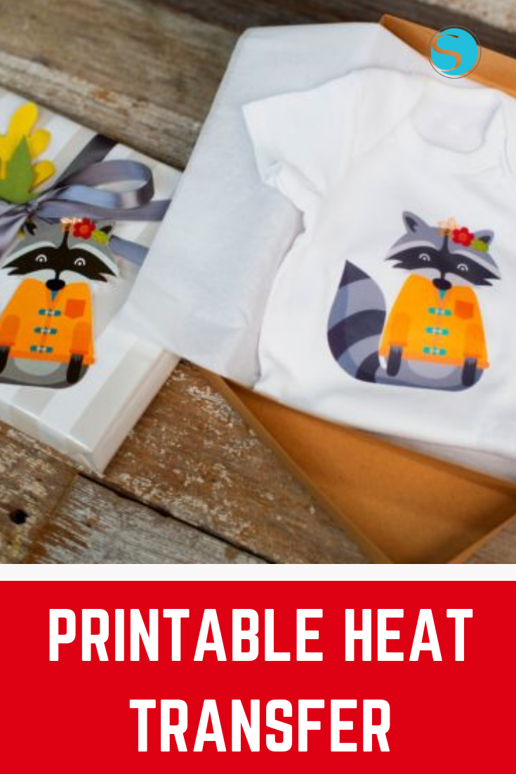 It is an image of Silhouette Printable Heat Transfer within printable htv