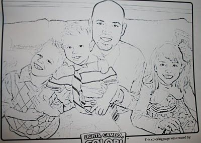 Turn photo to coloring page