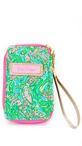Ordinaire Lilly Pulitzer Wristlet!