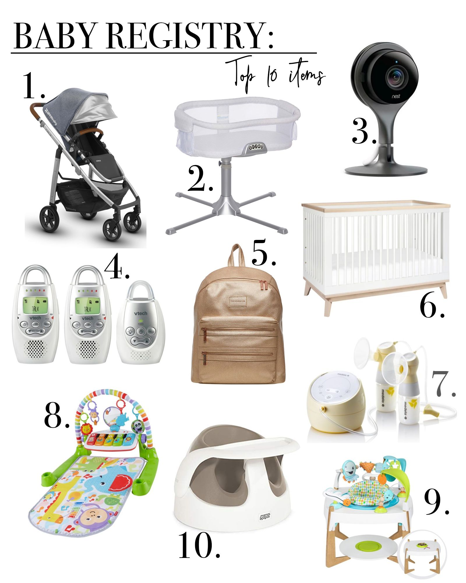 Top 10 Baby Registry Items Chic Talk Baby Registry Baby Registry Items Best Baby Registry