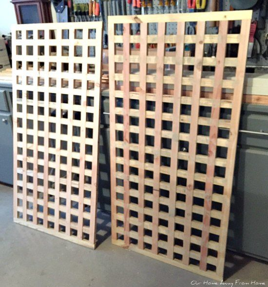 How to Build Homemade Wood Privacy Screens DIY
