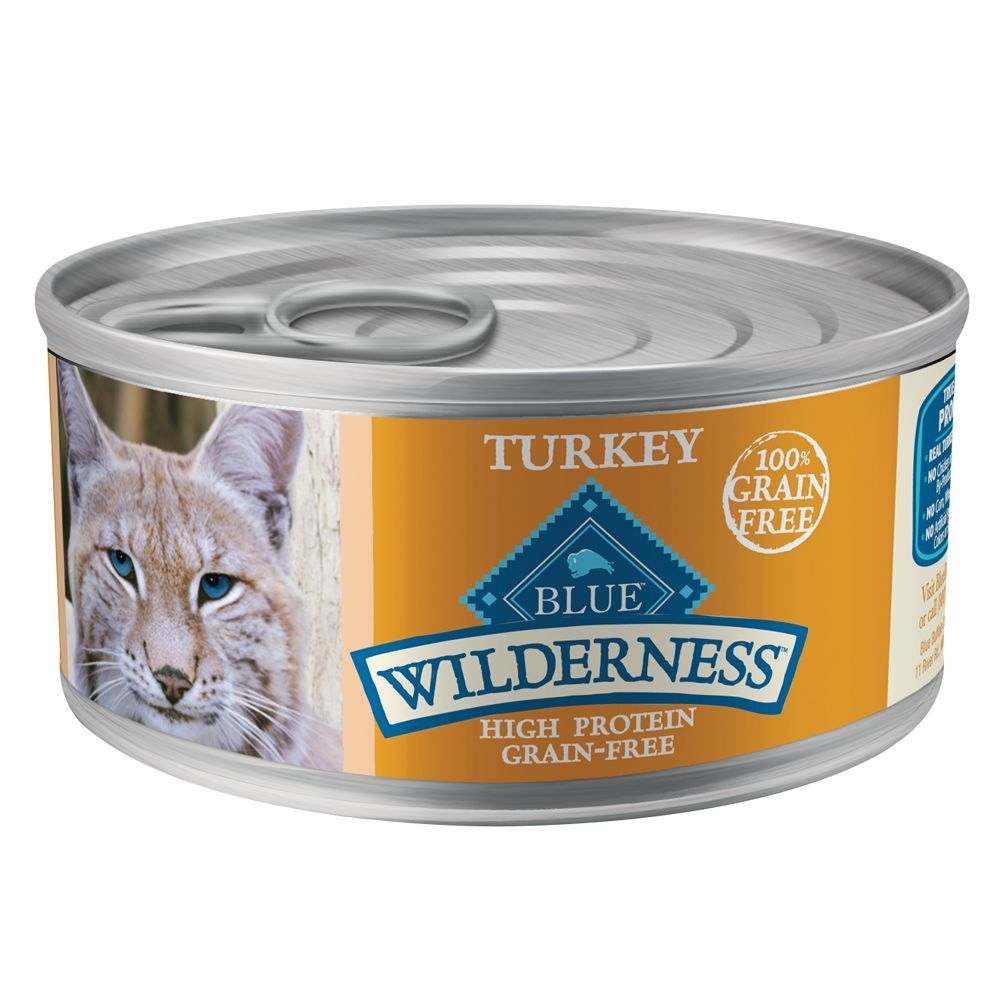 Blue Buffalo Wilderness Adult Cat Food Natural, Grain