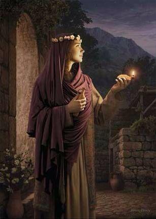 Keep Your Lamp Full Of Oil The Lord Is Coming Soon Matthew 25 6 10 Art Biblique La Sainte Bible Jesus Christ