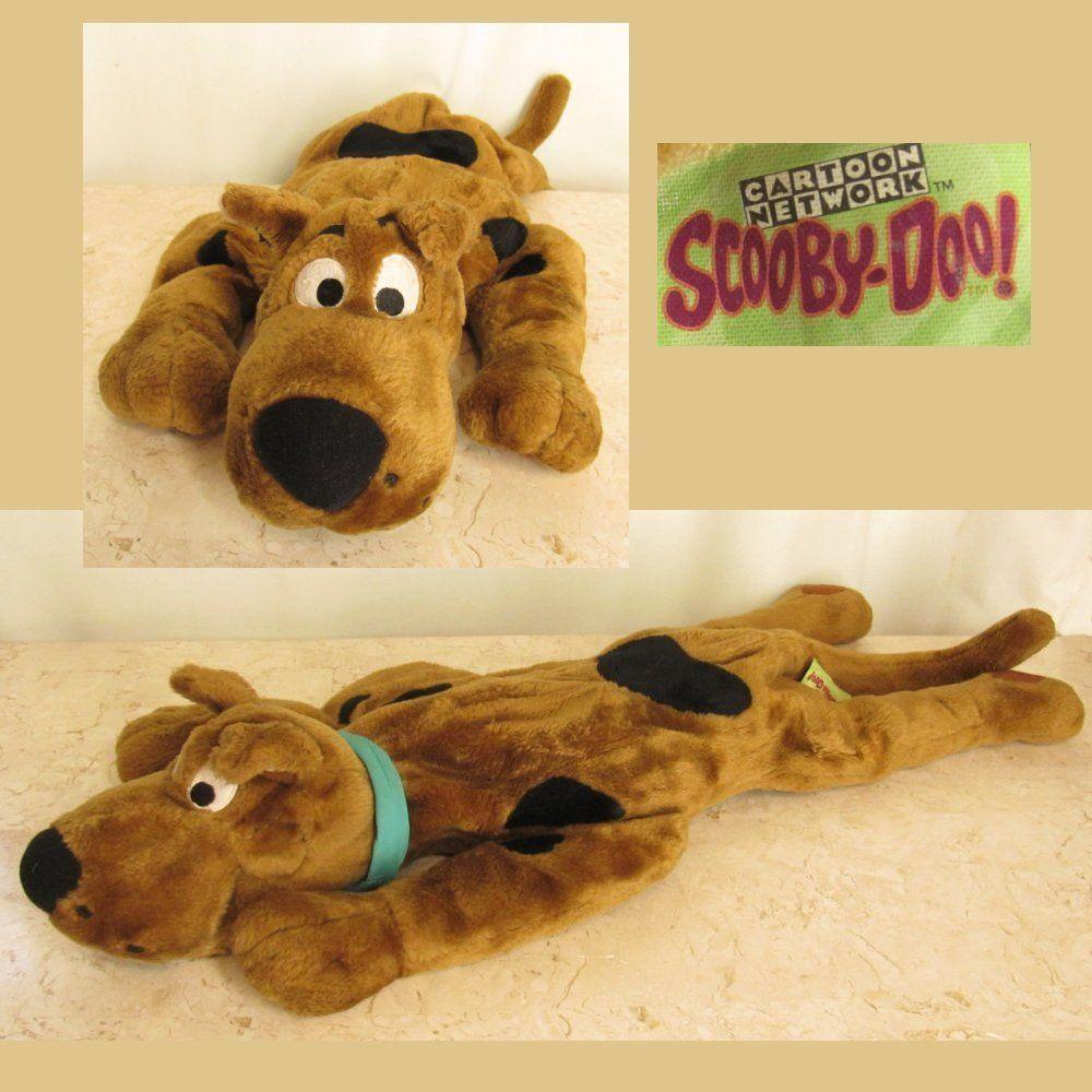 Scooby Doo Brown Dog Plush Stuffed Animal Great Dane 28 Floppy