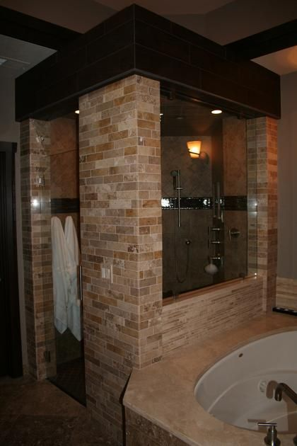 Steam Shower Including Body Sprays Ceiling And Hand Held Sprays Led Color Lighting System Includi Master Bath Shower Master Bath Remodel Bathroom Inspiration