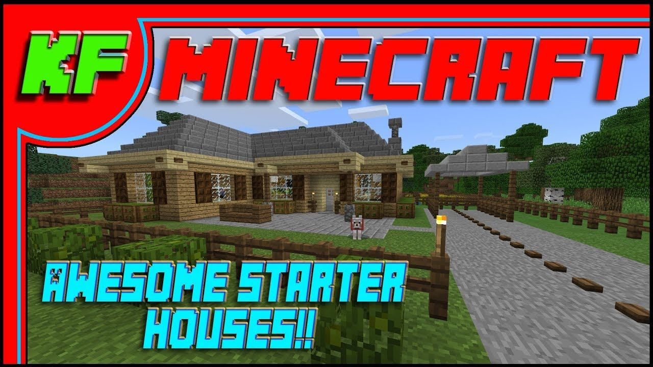 Awesome Starter Houses for Minecraft // Quick Clip Build ...
