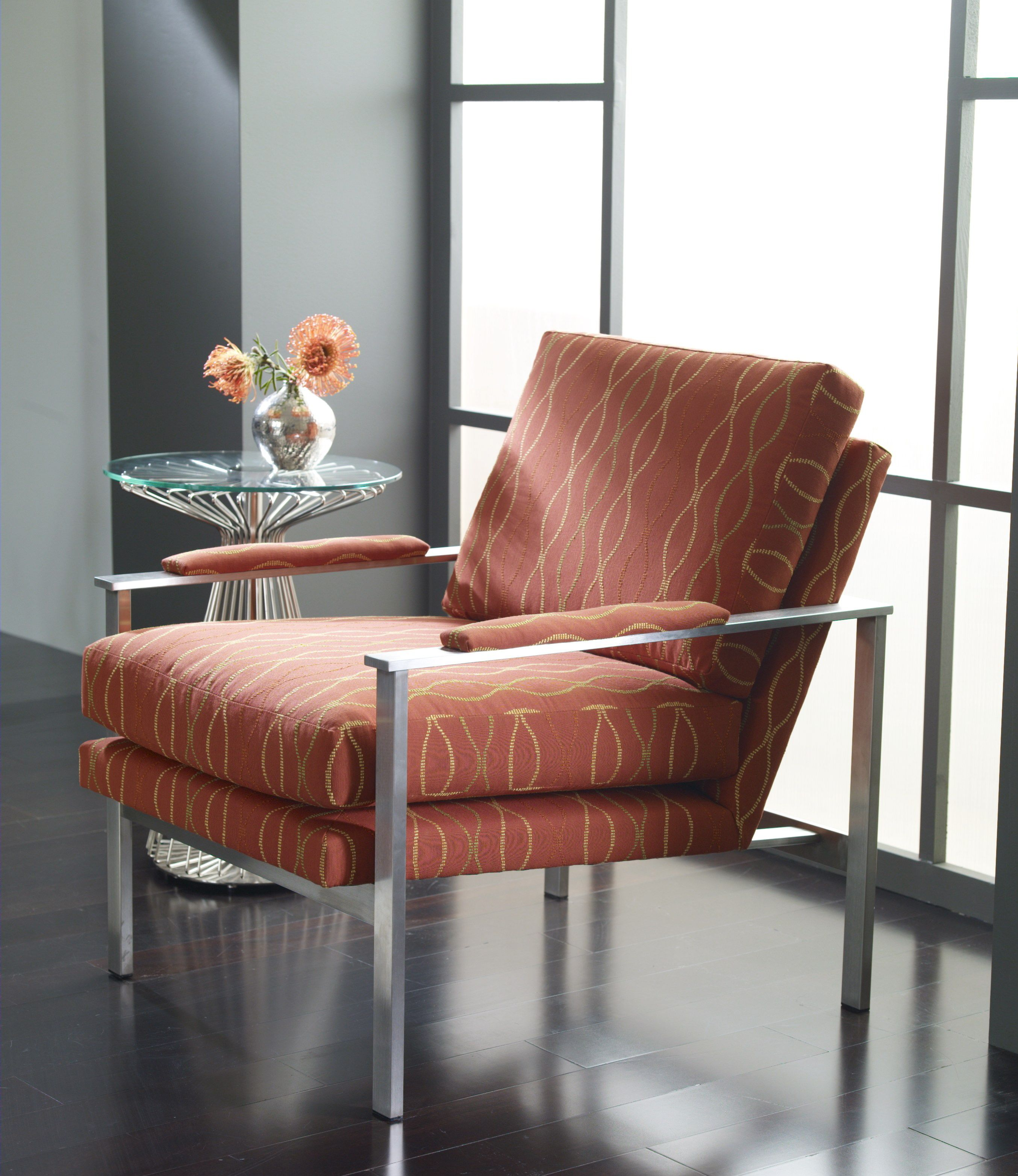 Cool Living Room Furniture: Leather Chair, Living Room