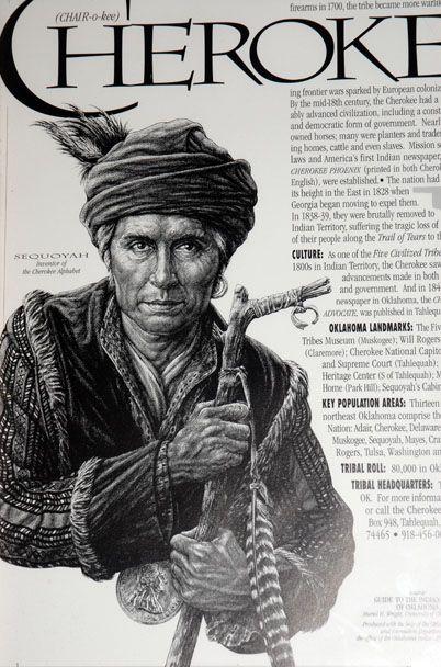 Famous Cherokee Indian Chiefs | Oklahoma City and Anadarko, OK