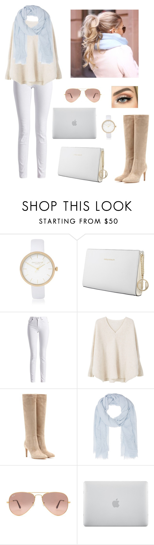 """""""Winter is coming!"""" by firebreatherr ❤ liked on Polyvore featuring River Island, Trussardi, Barbour International, MANGO, Gianvito Rossi, Juvia, Ray-Ban and Incase"""
