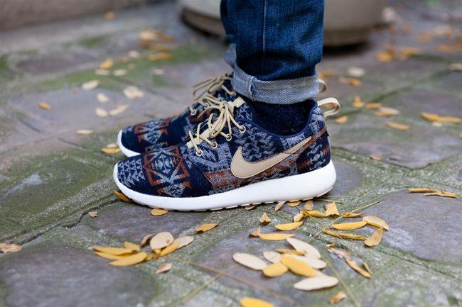 Roshe Run Nike Id Pendleton