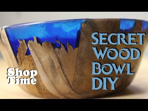 Artisan Demonstrates How to Create a Stunning Resin Wood Bowl