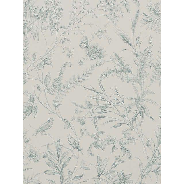 Ralph Lauren Fern Toile Wallpaper, Drawing Room PRL710/01 | Toile ...