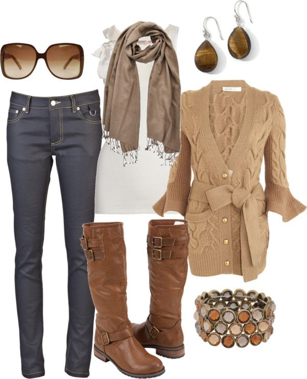 """browns"" by htotheb on Polyvore"