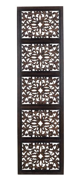 Decorative wood panel wall decor