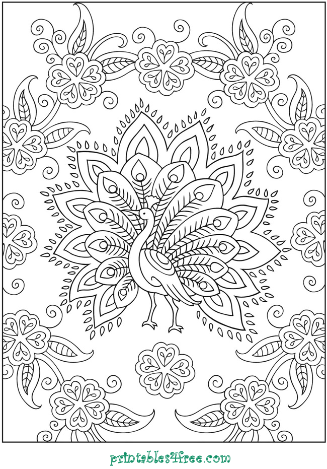 Stress Quotes Images 10 Fabulous & Free Adult Coloring Pages