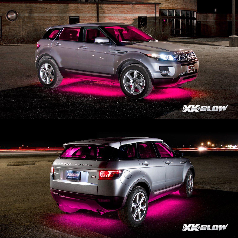 green premium 18pcs underglow car interior three mode led neon