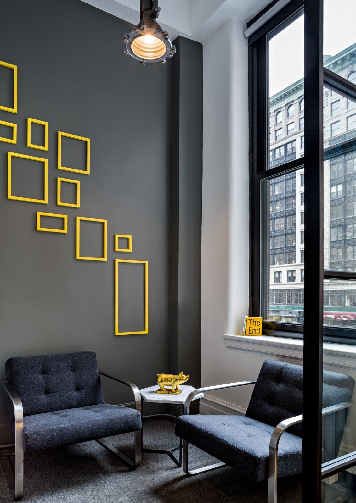 Daily Burn Offices New York City Office Snapshots Contemporary Home Decor Wall Design Office Interior Design
