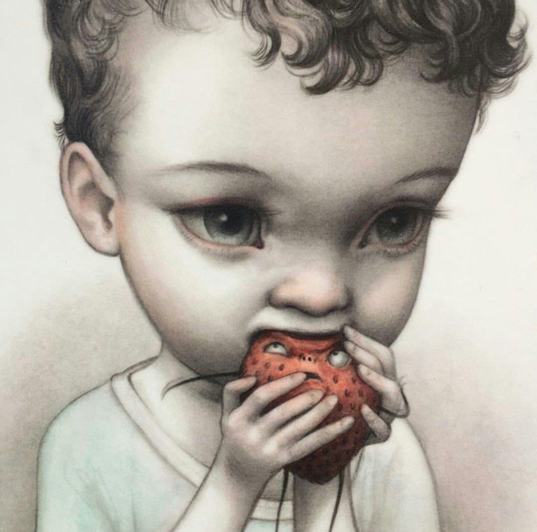 Mab graves pop surrealism lowbrow art cute art